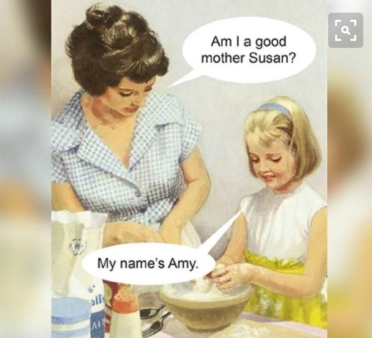 Inappropriate memes from our mom